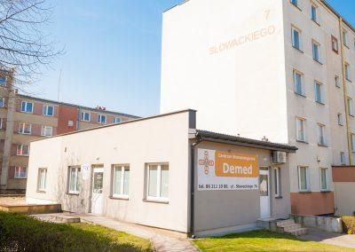 budynek- Demed Łomża